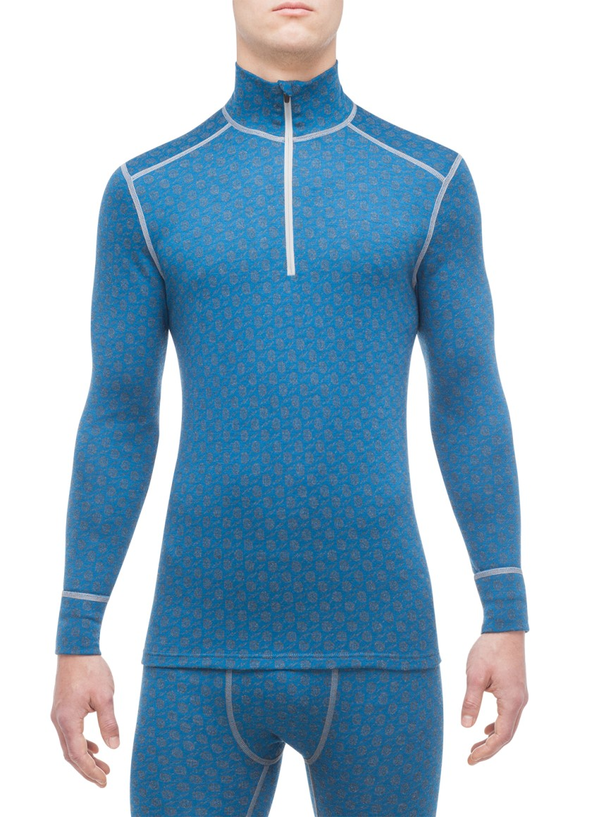 MERINO XTREME LONG-SLEEVE SHIRT WITH 1/3 ZIPPER