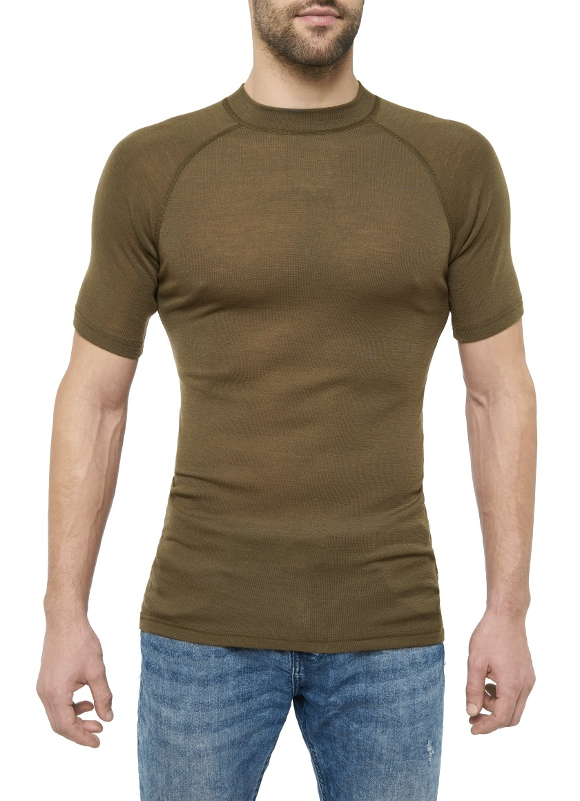 MERINO WARM SHORT-SLEEVE SHIRT